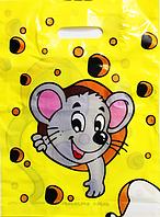 Пакет полиэтиленовый Типа Банан Мышка 29х38 см / уп-25шт