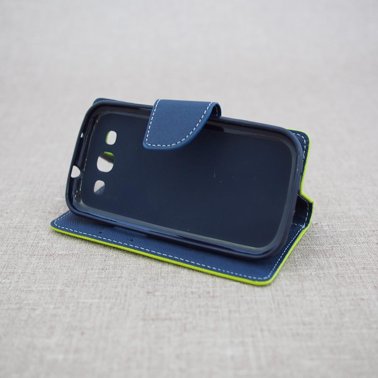 Чехол Goospery Fancy Diary Samsung S3 i9300 green