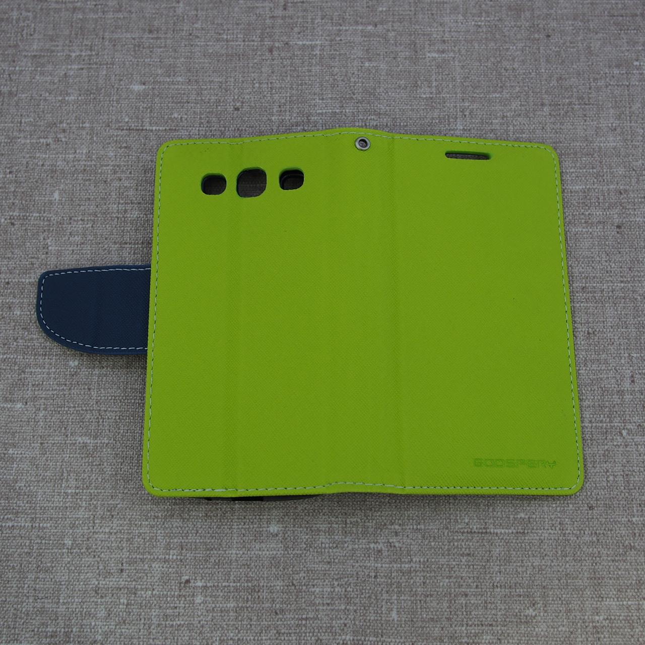 Goospery Fancy Diary Samsung S3 i9300 green Для телефона