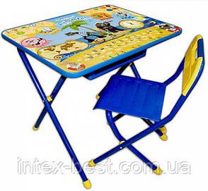 Набор детской трансформируемой мебели №3 Ну, погоди/синий      , фото 2
