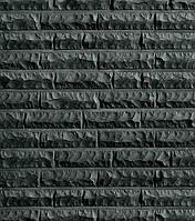 Клинкерный кирпич Roben Quebec, чёрный с оттенком, рустованный