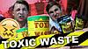 Самые кислые конфеты в мире Toxic Waste Hazardously Sour Candy Barre Токсик Вейст токсичные отходы