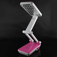 Лампа настольная светодиодная трансформер для маникюра, уроков, в офис удобная и функциональная настольная