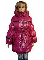 Удлиненная куртка для девочек