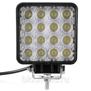 LED фара дополнительного света D12 48 W