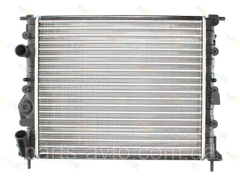 Радіатор основний Dacia Logan ,MCV, Kangoo, Solenza без кондиціонера. NISSENS 639371, 7700838134