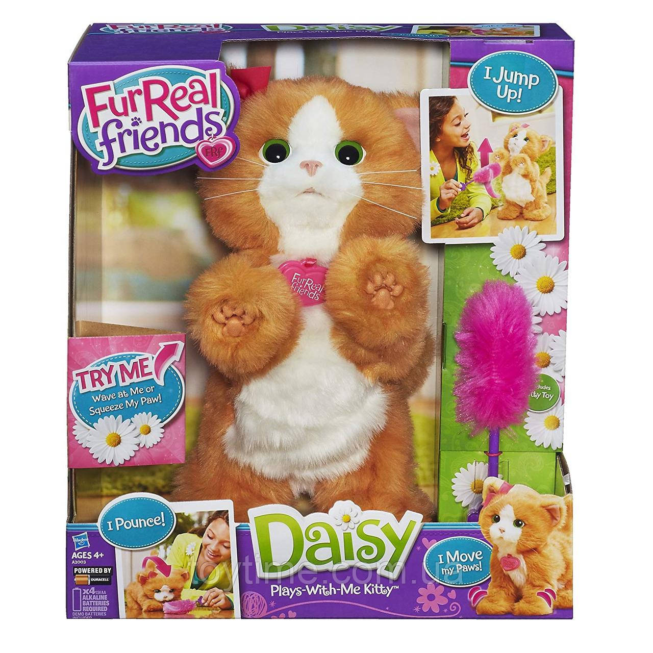 Интерактивная кошечка Дейзи от FurReal Friends Hasbro  / FurReal Friends Daisy Plays-With-Me Kitty Toy