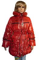 Куртка для девочек с меховой подстежкой