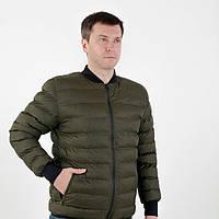 Мужская демисезонная куртка бомбер ( пуховик )