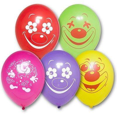 Латексный воздушный шар Клоуны c гелием