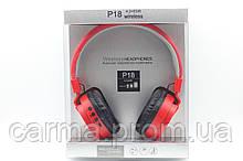 Бездротові навушники P18, червоний