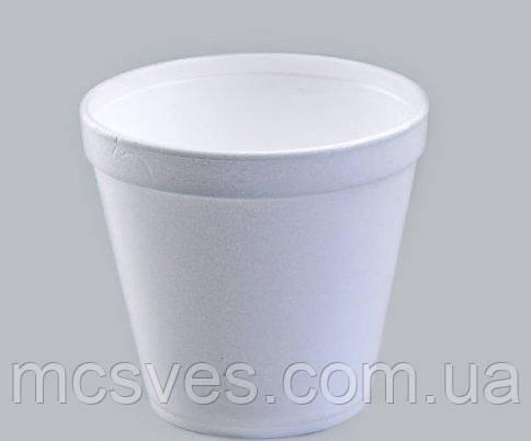Емкость супная из вспененного полистирола с крышкой, 690 мл 24OZ