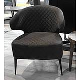 Кресло лаунж Keen нефтяной серый (бесплатная доставка), фото 3