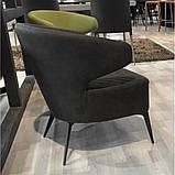 Кресло лаунж Keen нефтяной серый (бесплатная доставка), фото 5