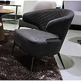 Кресло лаунж Keen нефтяной серый (бесплатная доставка), фото 6