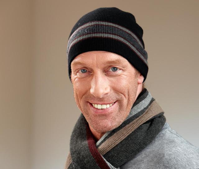 Мужские немецкие головные уборы, шарфы, перчатки