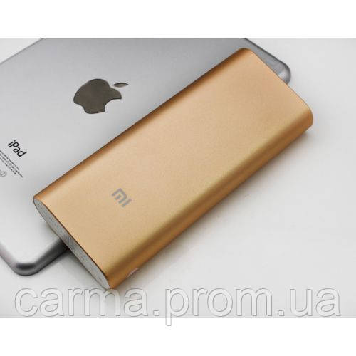 Повербанк Power Bank Xiaomi 16000 mAh, золото