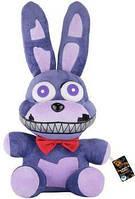 Мягкая плюшевая игрушка 5 ночей с Фредди, Кошмарный Бонни 25 см, Аниматроники