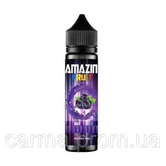 Жидкость для электронных сигарет с никотином Amazin' Fruit 3мг 60мл Со вкусом черники и холодком