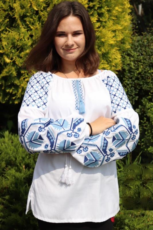 fe60d56232bdf9 Жіноча вишиванка (модель 46) від