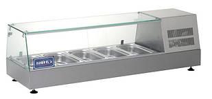 Витрина холодильная (суши кейс) ВХН-5-1225