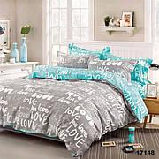 17148 Полуторное постельное белье ранфорс Viluta