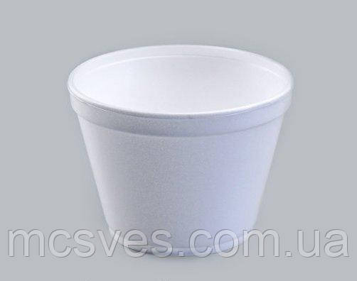 Емкость супная из вспененного полистирола, 450 мл 16OZ