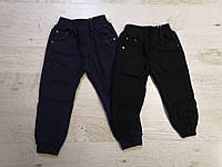 Утепленные брюки на флисе для мальчиков оптом, Seagull, 6-36 рр.