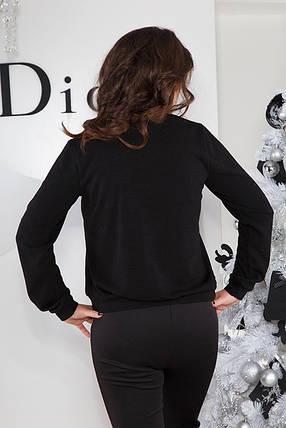 Модный джемпер  Большие размеры от 50 до 60, фото 2