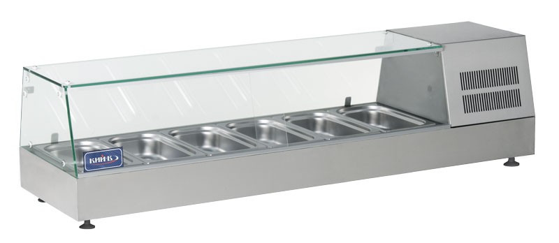 Витрина холодильная (суши кейс) ВХН-6-1400