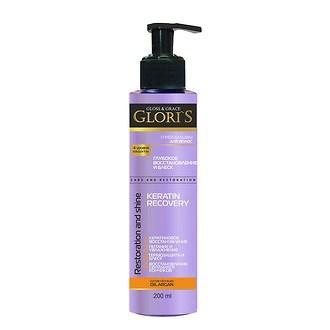 "Крем-бальзам для волос Gloris ""Keratin Recovery"" (200 мл.)"