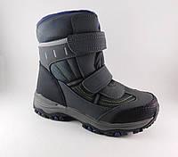 Зимние термо ботинки мапьчикам, р. 33, 35, 36