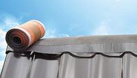Коньковая лента для гидроизоляции и вентиляции стыков на коньке, фото 1