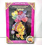 Мозаика из пайеток 'Медведи с шариком' (Пм-01-19), фото 3