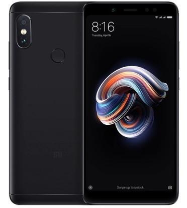 "Смартфон Xiaomi Redmi Note 5 4/64GB Black Global, 12+5/13Мп, Snapdragon 636, 2sim, 5.99"" IPS, 4000mAh, GPS"