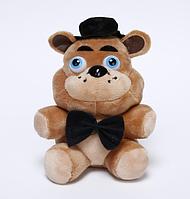 Мягкая плюшевая игрушка 5 ночей с Фредди, Фредди Freddy 25 см, Аниматроники