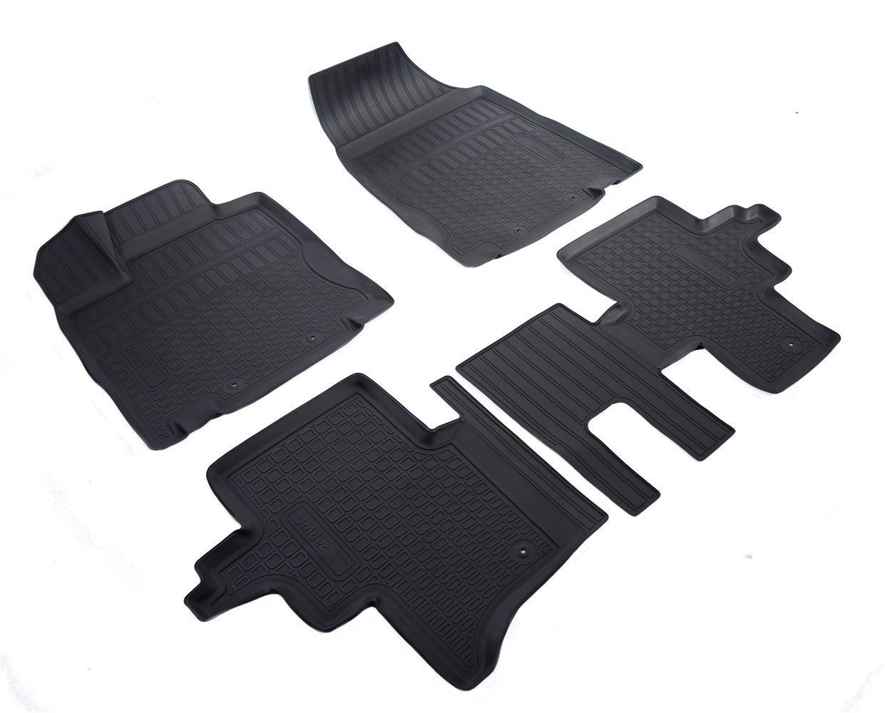 Килимки в салон для Nissan Pathfinder (R52) (14-) (полиур., компл - 4шт) 5мест NPA11-C61-454