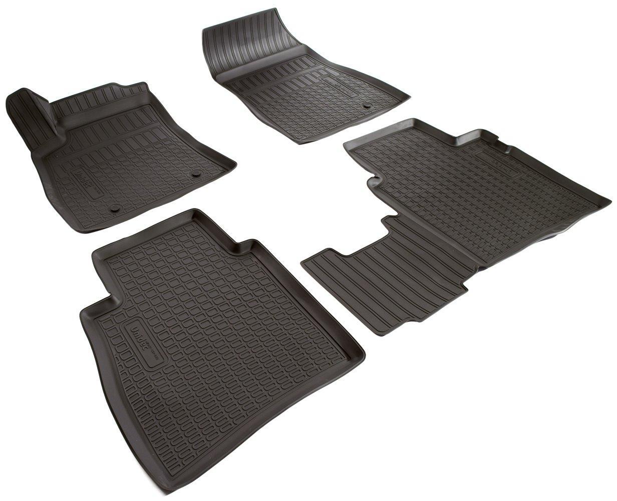 Килимки в салон для Nissan Sentra (B17) (14-) (полиур., компл - 4шт) NPA11-C61-630