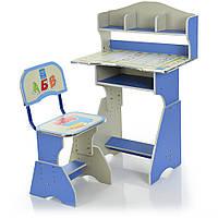 Парта детская со стульчиком HB-2070(2)-03-7 Гарантия качества Быстрая доставка