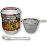 Заварники, чашка с заварником, кружка керамическая сувенирная, керамическая чашка оптом