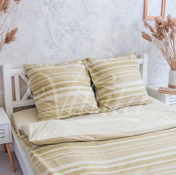 17171 Двуспальное постельное белье ранфорс Viluta