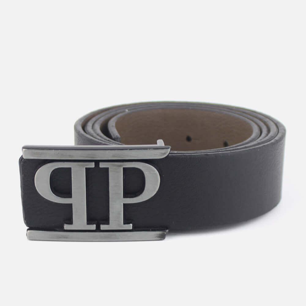 Belt Philipp Plein Letters Black