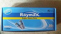 RAYMAX R6-SUPER HEAVY DUTY-60PCS/AA4/R6P/UM3/1.5V/15X45