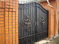 Сварные ворота в Полтаве