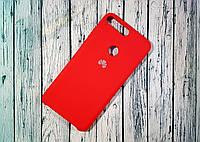 Чехол-накладка Original Soft Case Huawei Y7 2018 Red
