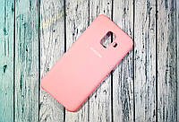 Чехол-накладка Original Soft Case Samsung A6 2018 Pink