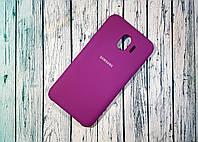 Чехол-накладка Original Soft Case Samsung J4/2018 Violet