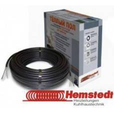 Теплый пол электрический Hemstedt двухжильный нагревательный кабель