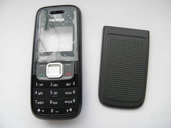 Корпус Nokia 1209 чёрный с клавиатурой Sertec, фото 2