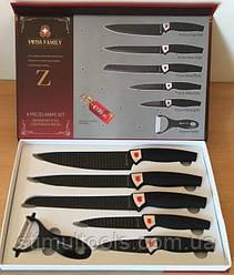 Набор ножей 6 ед. Swiss Family SF-038